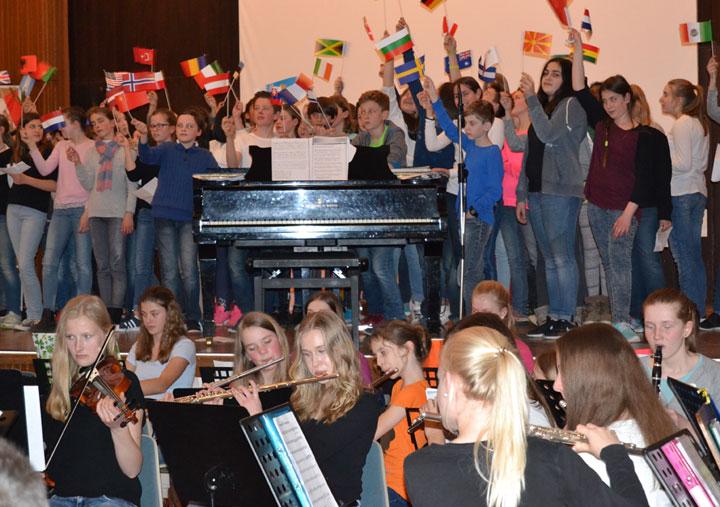 Projekt: Musikalische Weltreise